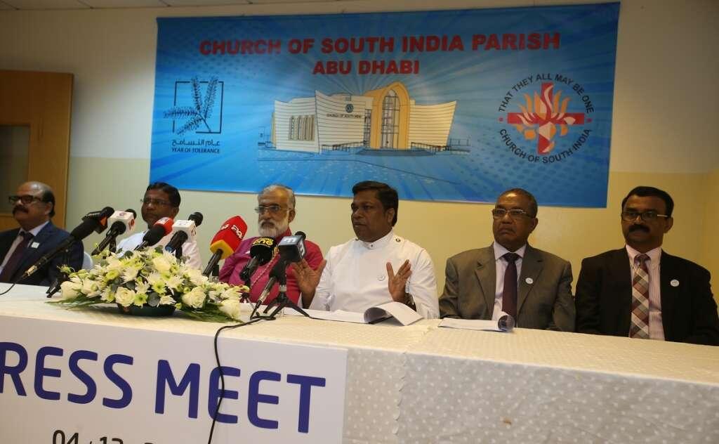 Dh9 million, church, come up, Abu Dhabi,  Church of South India, Parish, Abu Dhabi,