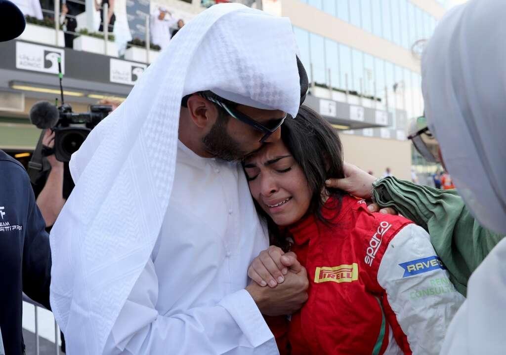 Abu Dhabi F1: Emirati teenager Amna does UAE proud