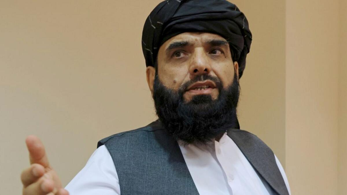 Suhail Shaheen will represent Afghanistan in the United Nations. Reuters