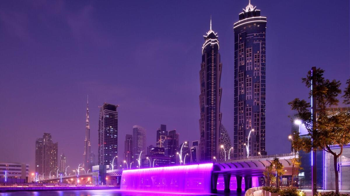 Emirates has partnered with Dubai Tourism to offer complimentary stays at the five-star JW Marriott Marquis to all of its customers visiting Dubai from December 6, 2020 until February 28, 2021 (Photo courtesy JW Marriott Marquis website)