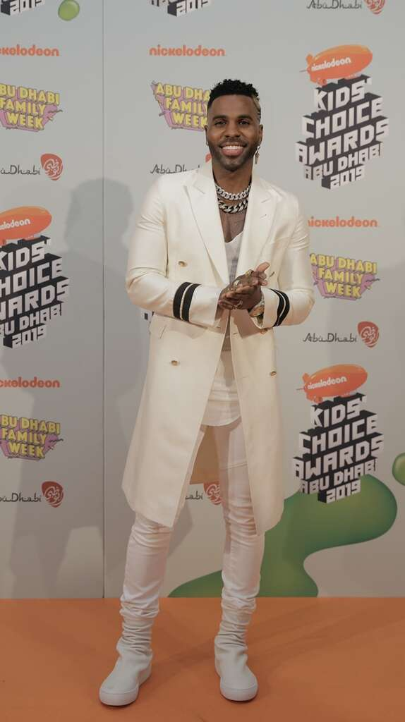 Nickelodeon Kids' Choice Awards and Jason Derulo storm Abu Dhabi (https://images.khaleejtimes.com/storyimage/KT/20190921/ARTICLE/190929890/H1/0/Jason-Derulo-arrives-at-the-Nickelodeon-Kids'-Choice-Awards-in-Abu-Dhabi-.jpg&MaxW=300&NCS_modified=20190924160521