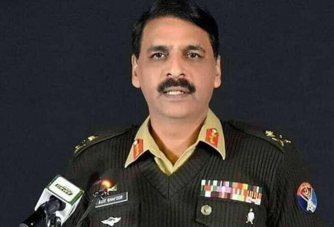 Major General Asif Ghafoor, ex-Director-General of Pakistan