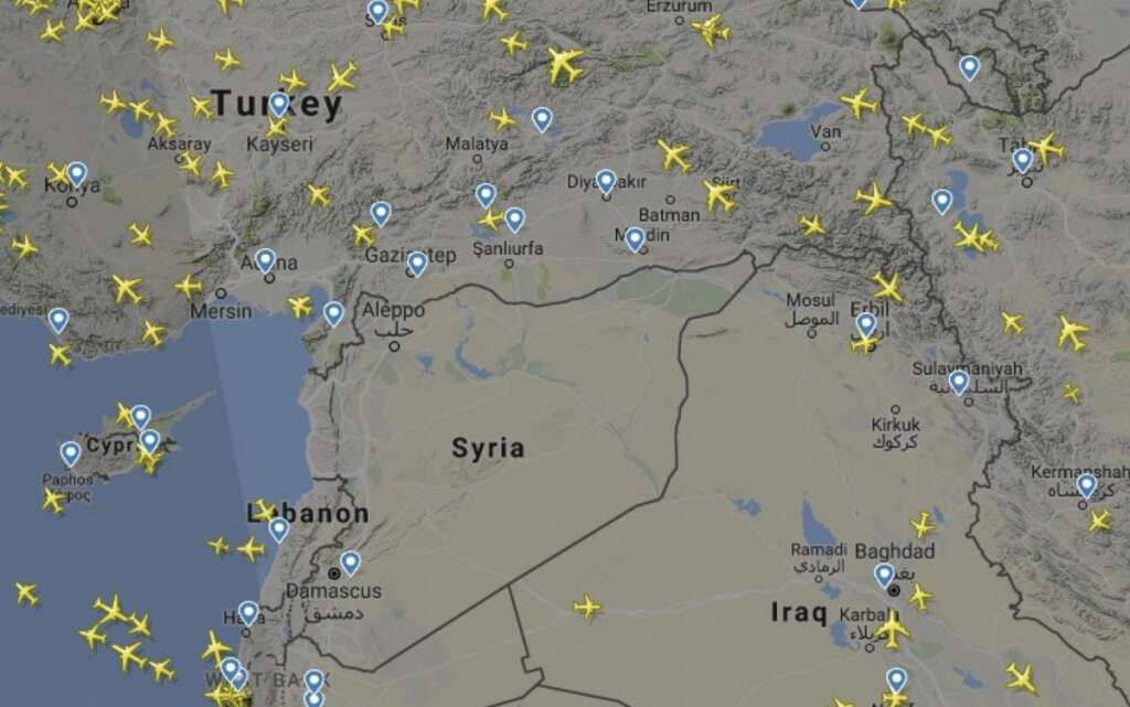 Airlines warned of possible missile launches into Syria