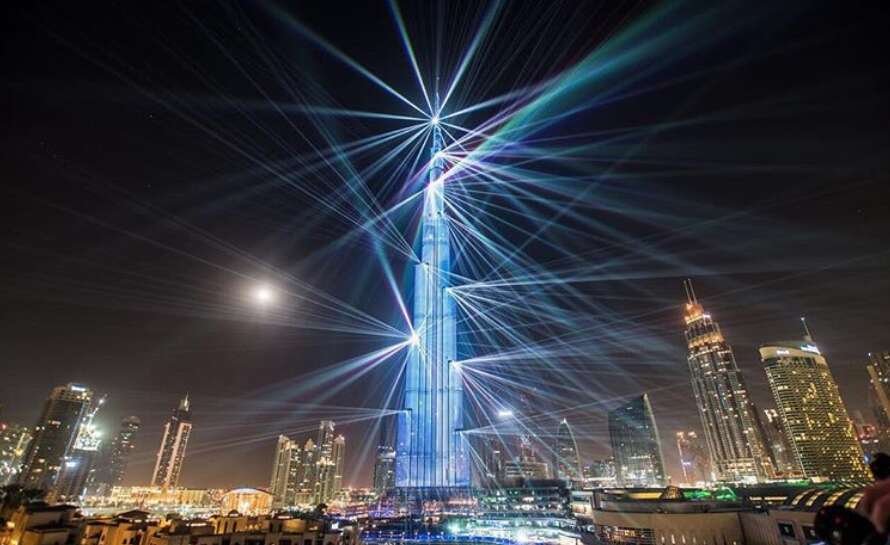 Now watch Burj Khalifa light show until March 31