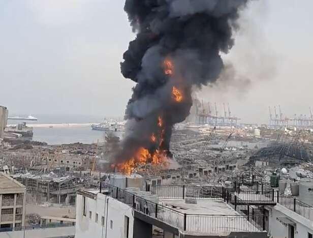 Beirut port fire, Lebanese