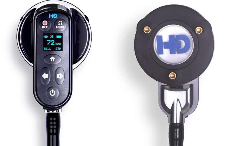 Smart stethoscope to visualize heart sound, cardiac abnormalities
