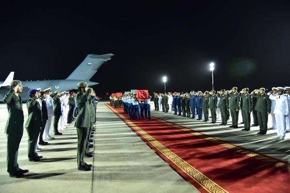 Resilient UAE mourns its fallen brave hearts