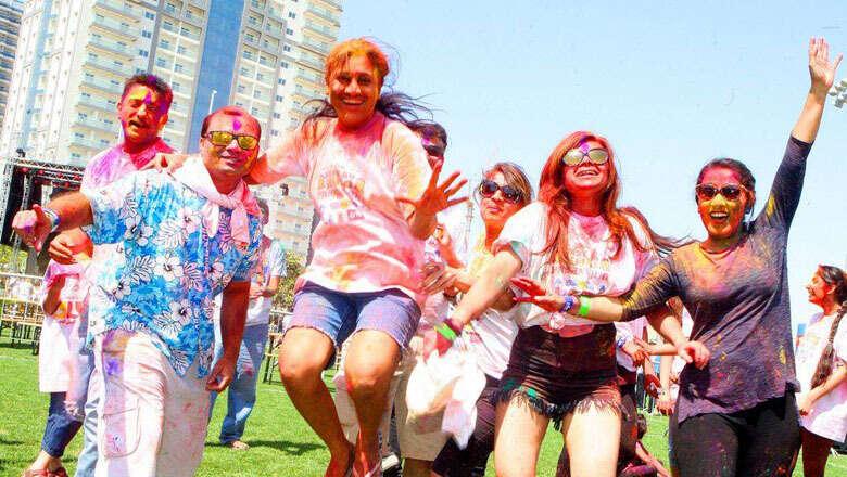 aks holi festival, holi, dubai, colour carnival, cancelled