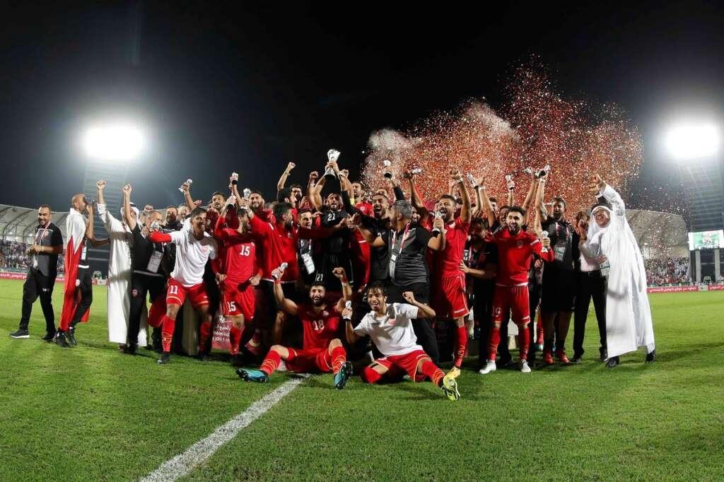 Gulf Cup victory, Arabian Gulf Cup,  Saudi Arabia