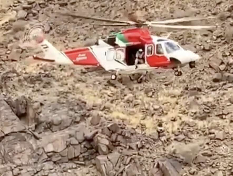 Sharjah, wadi, flood missing, uae, accident