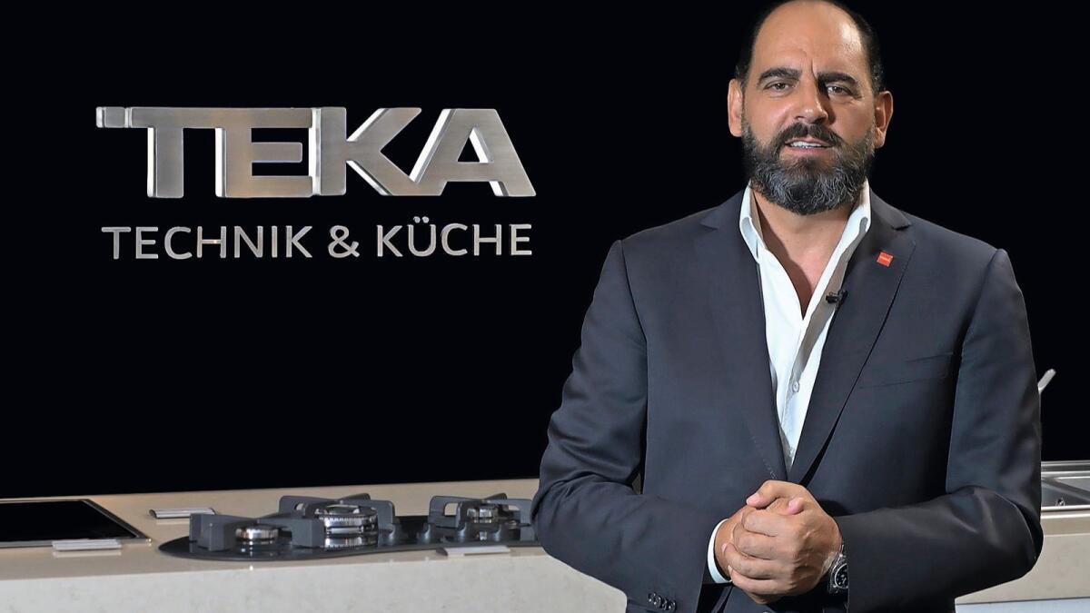Arturo Manso, Managing Director, Teka UAE