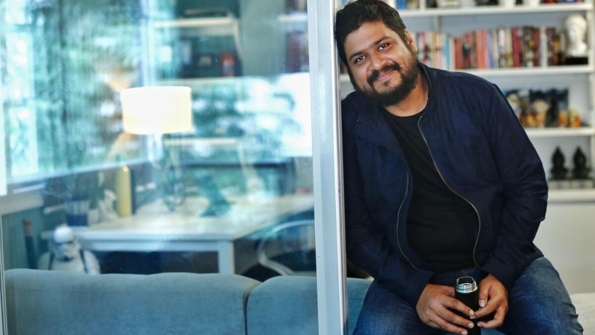 Om Raut has directed Adipurush, an adaptation of the Ramayana starring Prabhas. Supplied photo