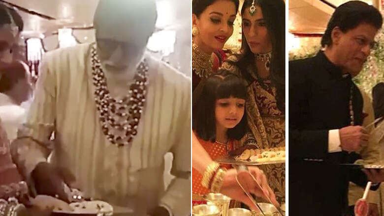Video: Bachchan explains why Bollywood stars served food at Ambani wedding