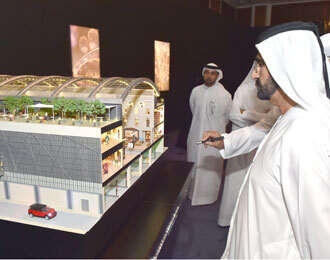 Mohammed launches Mall of the World project in Dubai