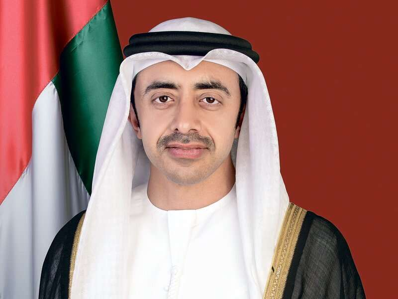 sheikh Abdullah, uae, Israel, peace, treaty, Washington, Donald trump