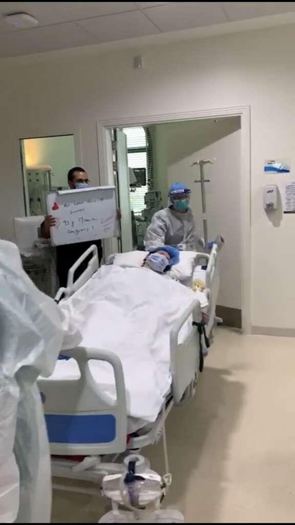 93-year-old, woman, Syrian, Abu Dhabi, recovers, coronavirus, Covid-19, Al Rahba Hospital