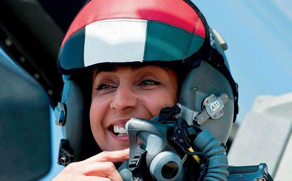 No barriers for UAE fighter pilot Major Mariam Al Mansouri