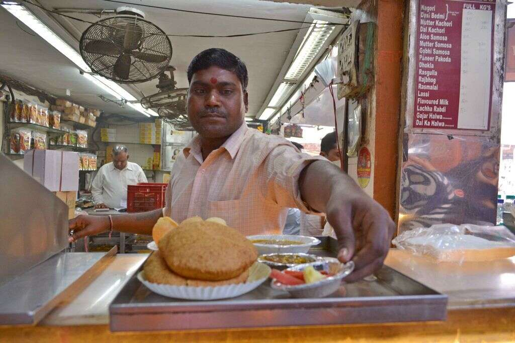 Explore Incredible India. through its food