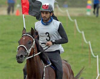 Hamdan wins endurance race