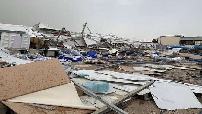 Staff, hospital, Qatar, injured, storm, coronavirus, Hazm Mebaireek General Hospital, Gulf Times