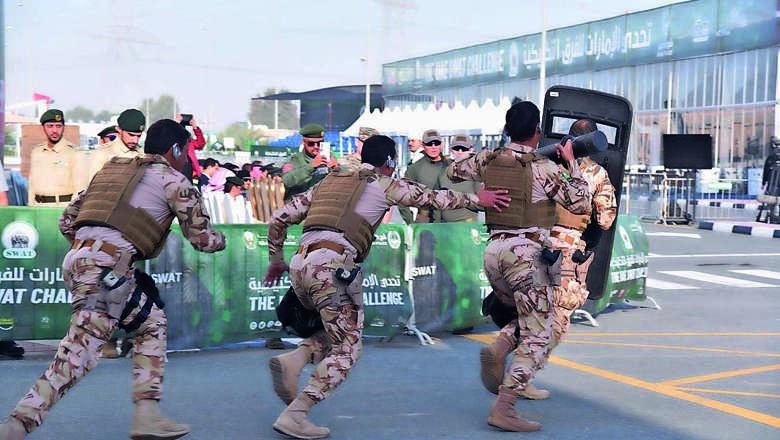 dubai police, swat, challenge
