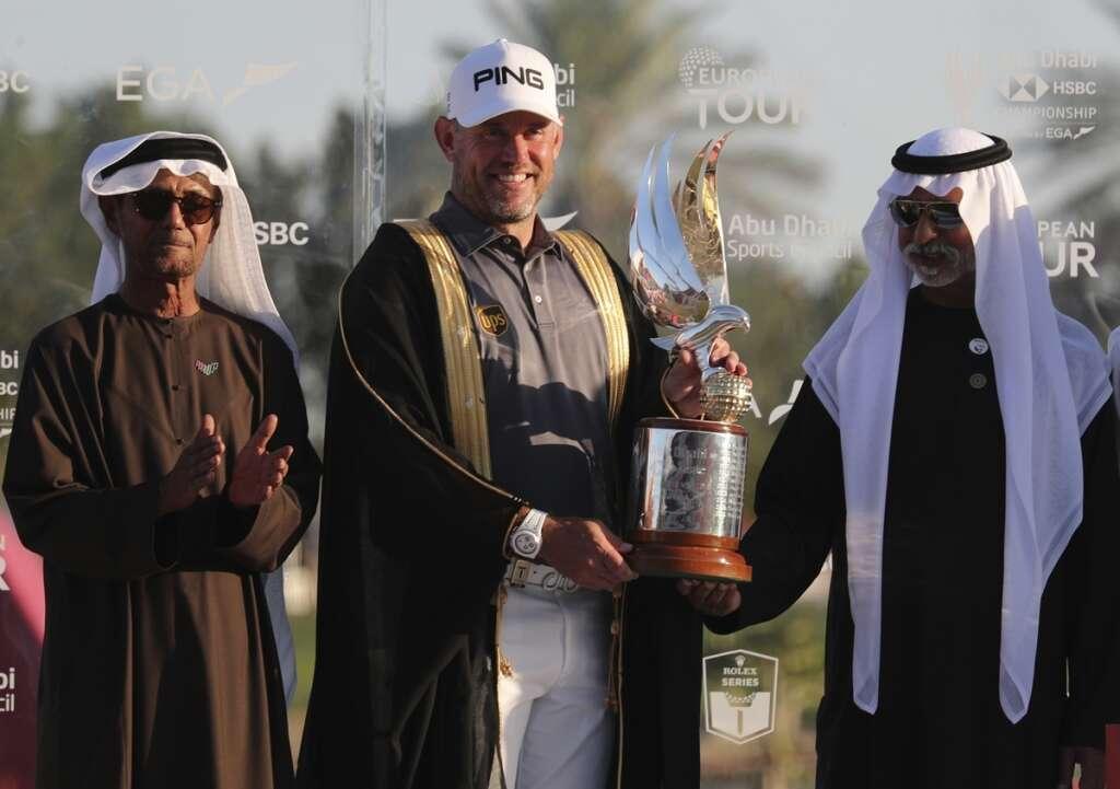Emotional Westwood grabs Abu Dhabi title