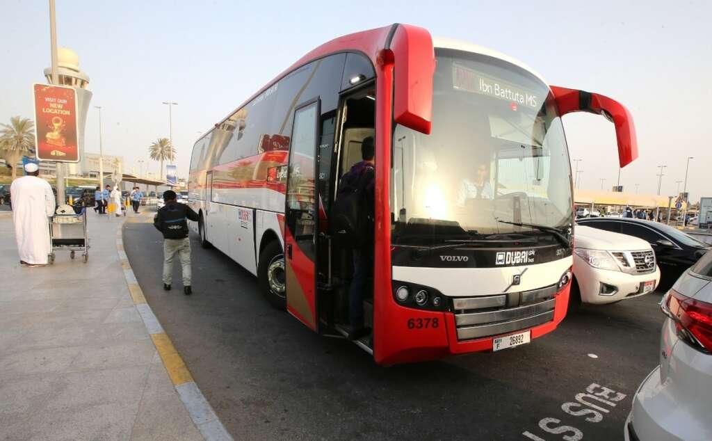 Mussafah, Ibn Battuta, Abu Dhabi, central, bus station, new service, Abu Dhabi, Dubai, airport