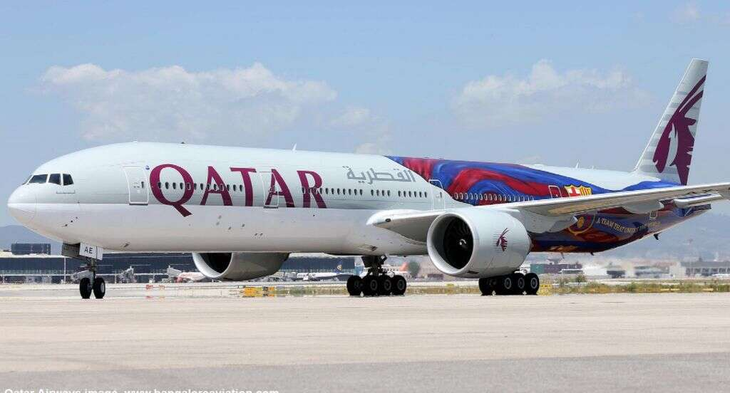 Racy viral pics of cabin crew are old; staff sacked: Qatar Airways