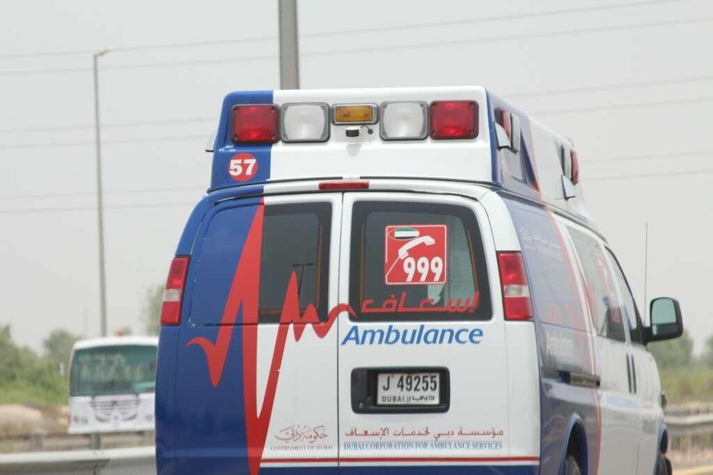 dubai, UAE, ambulance, emergency, response, medical team, hospital