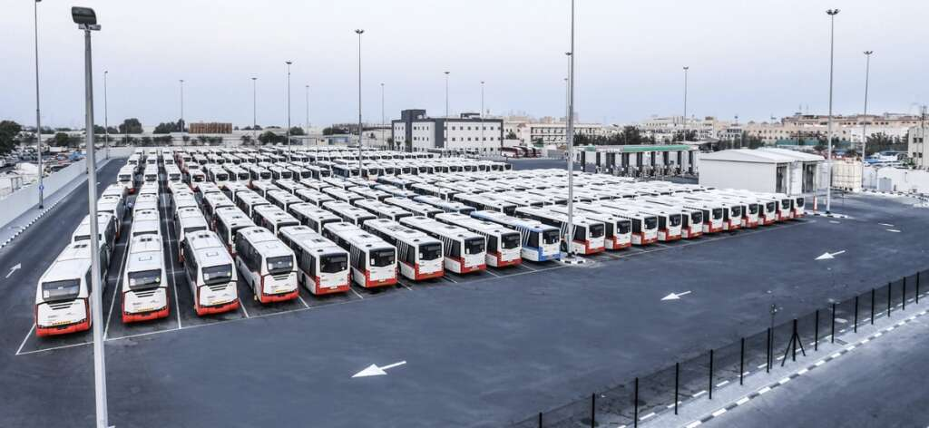 Video, RTA,  Al Quoz Bus Depot