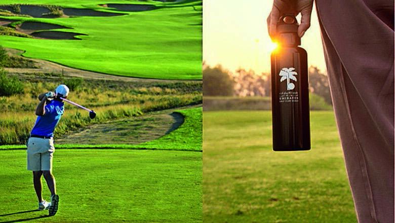 single use, plastic bottle, dubai, golf, courses, golf, golf courses