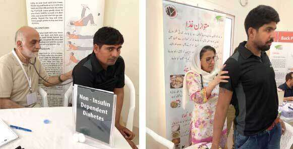 The free health awareness check-up for labourers was held at a labour accommodation in Jebel Ali.