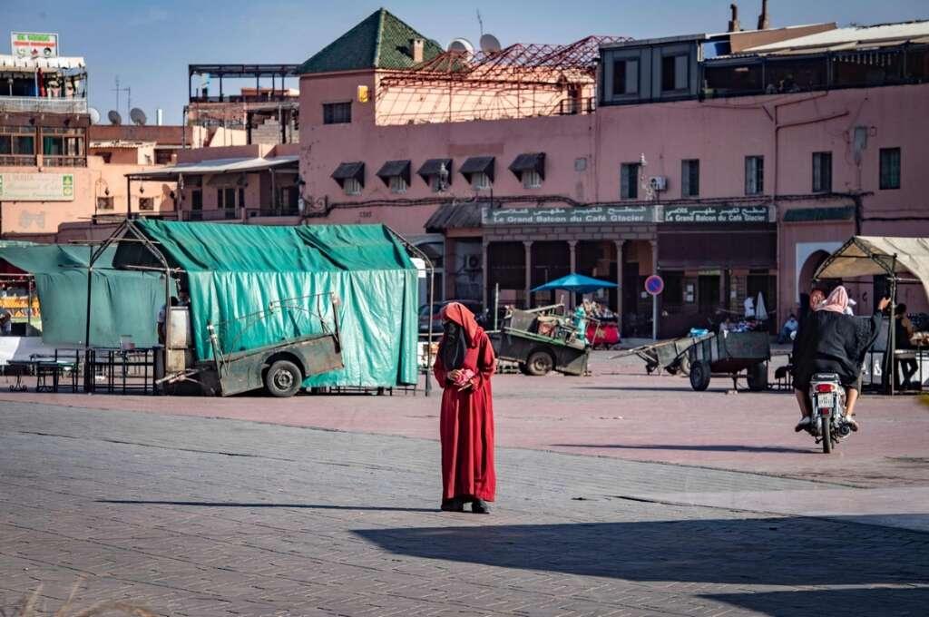 Morocco,  Marrakesh, 'suffocates'