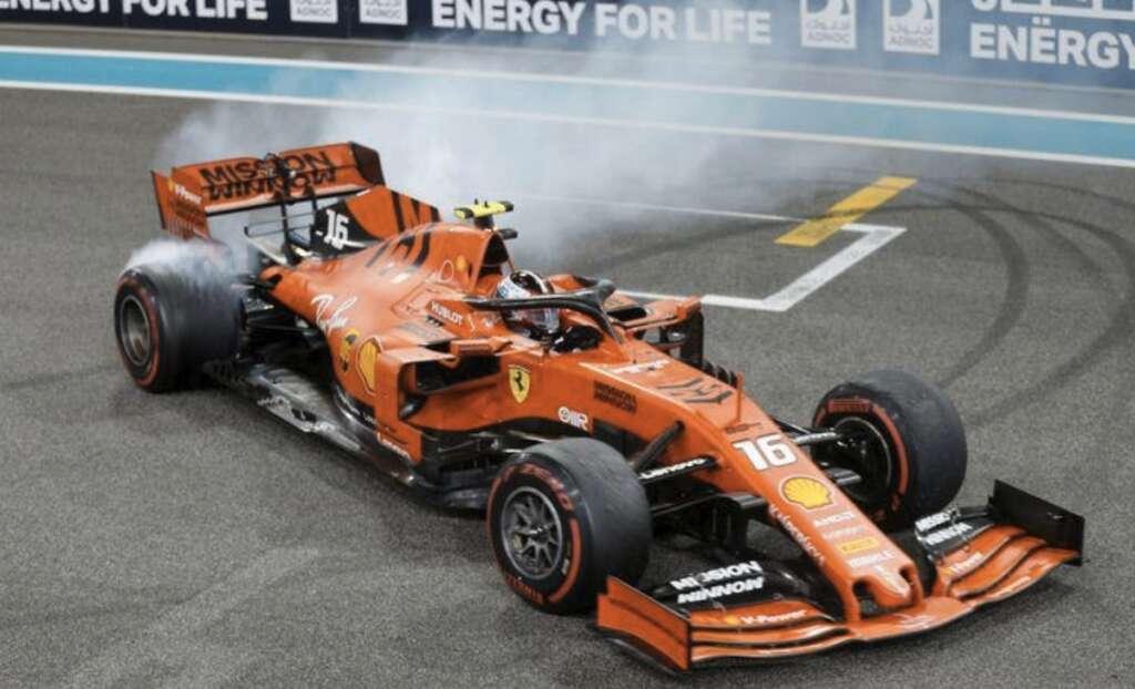 Ferrari, fuel irregularity, Abu Dhabi Grand Prix, Charles Leclerc