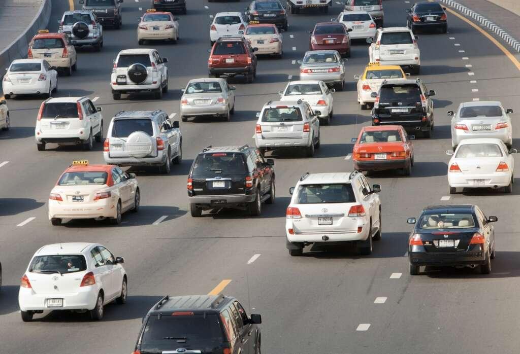 Dubai traffic accident, Dubai, traffic