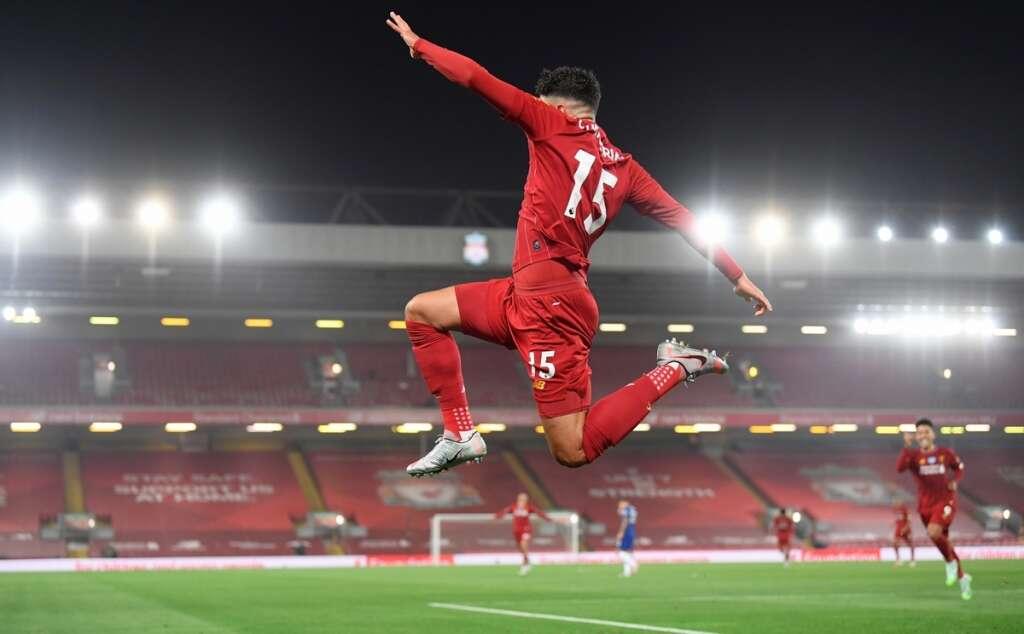Liverpool, beat, Chelsea, 5-3, Anfield, Premier League, lift, trophy