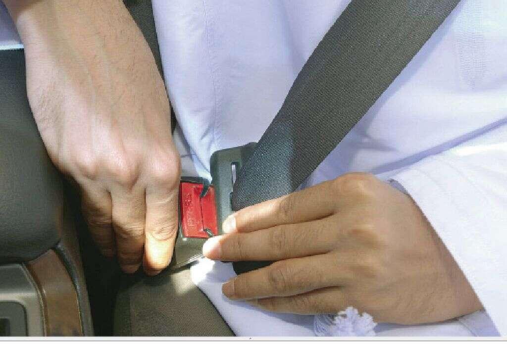 UAE motorists careless about wearing seat belts, shows study