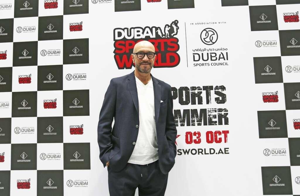 Italian football legend Zenga pays glowing tribute to Dubai