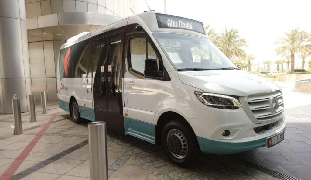 Abu Dhabi, Abu Dhabi toll,  Abu Dhabi toll system, New bus, salik,