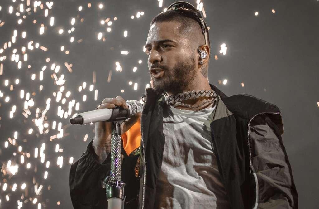 Maluma colombian latino latin singer Dubai UAE coca cola arena