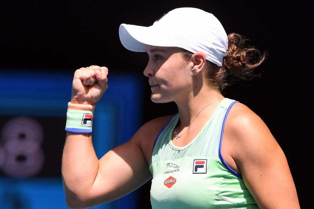 Barty bids to live up to Australian Open hype