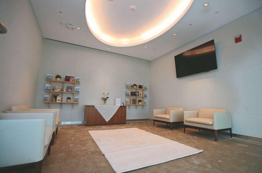 abu dhabi, hospital, prayer, multi-prayer, facility, tolerance