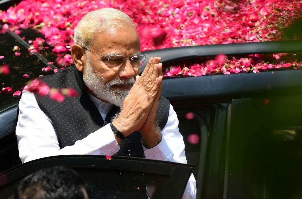 World leaders congratulate Modi after election victory