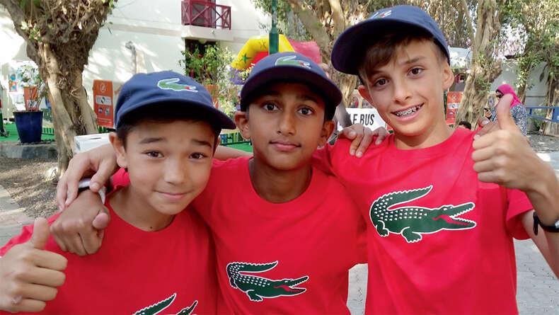 Ball kids share their dream experience