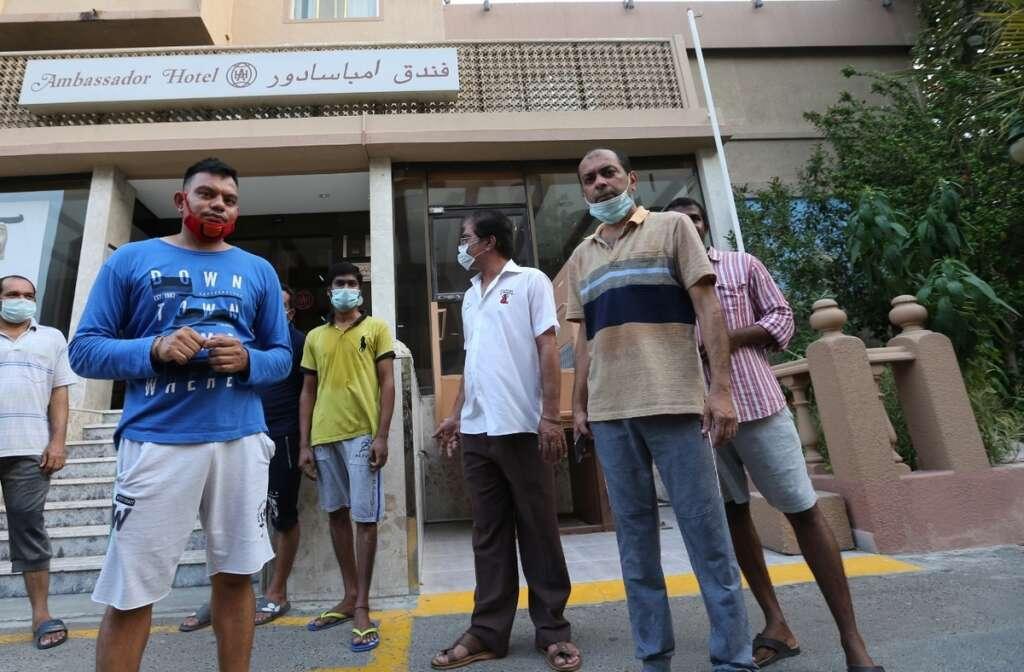 Unpaid, over a year, staff, iconic, Dubai hotel, dire straits