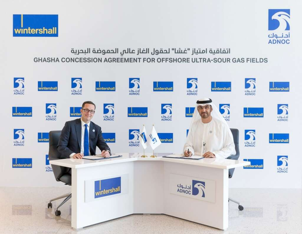 Wintershall joins Adnoc, Eni for Ghasha gas project - Khaleej Times