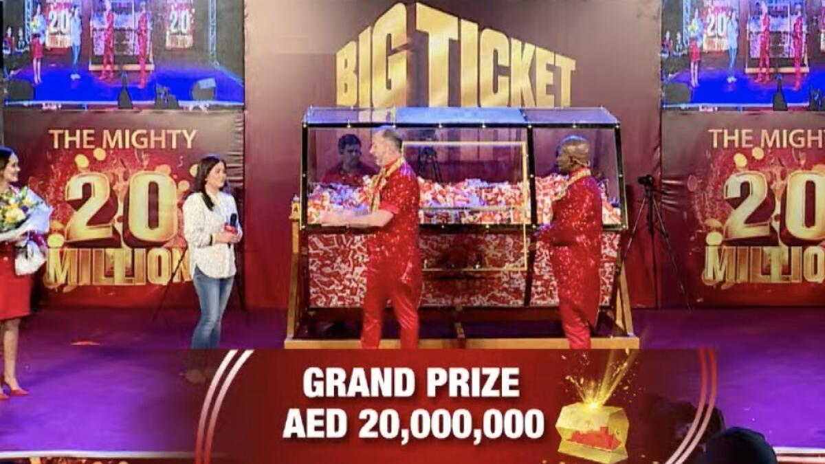 """However, when Richard, who rings up the jackpot winner, called Hassan it led to a funny episode for the thousands of aspirants in the crowd. Hassan, naturally, couldn't believe his luck. When Richard asked """"What are you doing at the moment,"""" Hassan replied: """"It's none of your business. May I know who's on the line?"""""""