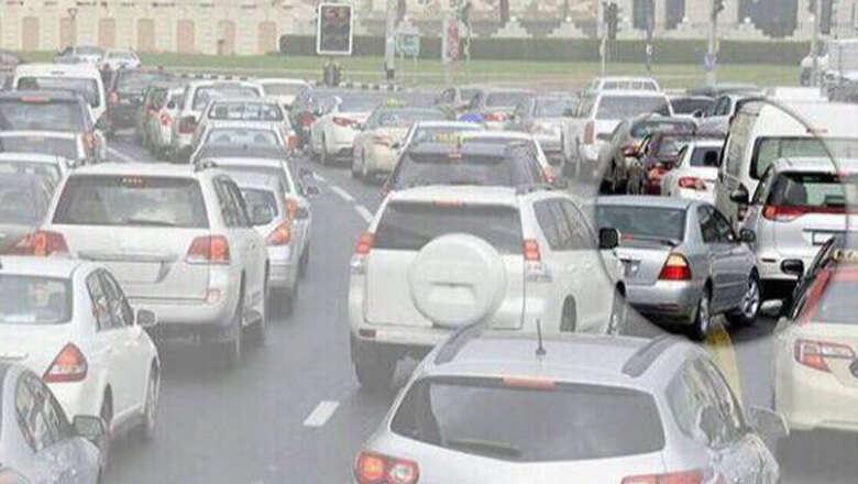Dh500 fine for blocking traffic on Abu Dhabi roads