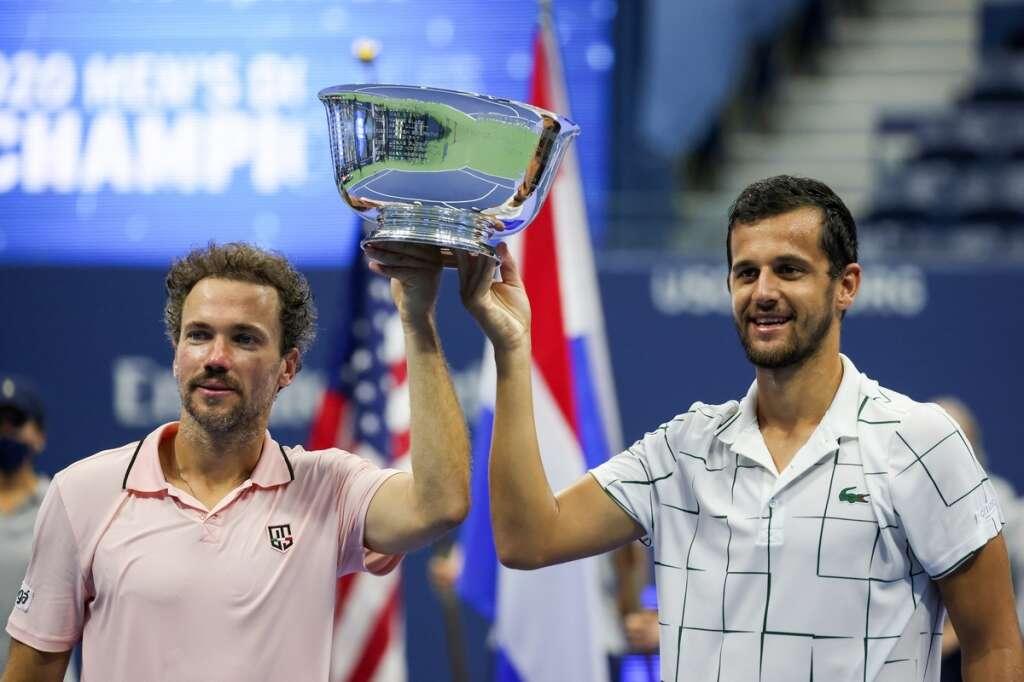 US Open, Mate Pavic, Bruno Soares, men's doubles, tennis, new york