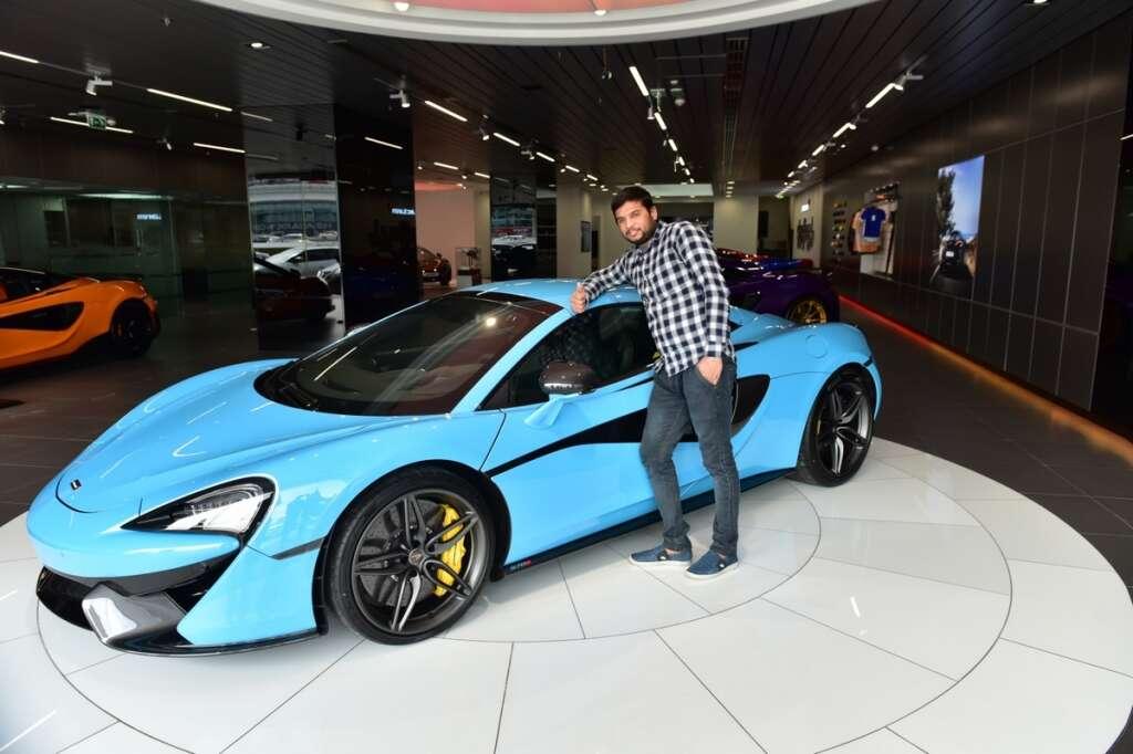 UAE worker wins supercar after renewing phone registration